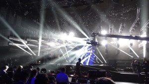 Melodifestivalen bjuder på en spektakulär scen.